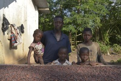 M. Fofana Danon- Cocoa Farmer - Cooperative CINPA -Agboville - Cote d'Ivoire in October 2013